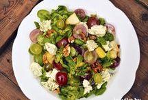 Saláták / Saláta receptek az ízesélet.hu-ról