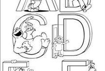 Taal - letters / Alles wat met letters en letters aanbieden te maken heeft