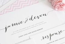 Wedding • Invitation & Menu