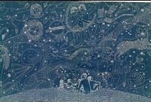 """Celeste / """"I know nothing with any certainty but the sight of the stars makes me dream."""" — Vincent Van Gogh  / by Stukley Grace"""