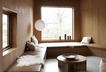 In my dreams, I live a little in each of these rooms every day!  / Inspiration for my dream home // Scandinavian Influence