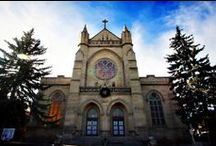 Catholic Churches in Colorado / Colorado is home to many beautiful Catholic churches.  These are some of our favorites.