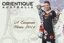 "Orientique Australia Presents       ""A European Winter 2014"""