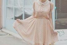 Lovely dresses. ♥