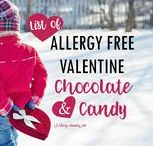 Valentines - Food Allergy Friendly / Valentine treats and valentine crafts that are food allergy friendly. Mostly top 8 free treats and non-candy ideas for crafts and cards.