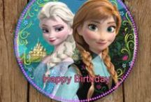 Frozen Birthday Cake Ideas / How to make some super simple frozen inspired cakes!