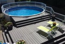 Pools / Whether you are an existing homeowner, a new homeowner or you are designing your dream home and you're looking to create an aesthetic, relaxing environment to escape the summer's heat, or you just want to entertain family and friends... let us at Premium Pool and Spa show you how we create swimming pools without hassles, worries or frustrations and help you create the backyard you've always dreamed of.