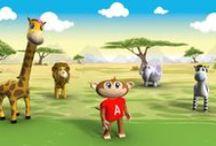 Learn Safari  Characters / A look at Learn Safari's beloved characters.