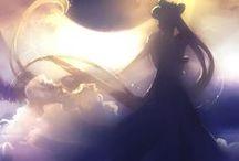 """Sailor Moon ☾ / """"Soy una Sailor Scout que lucha por el amor y la justicia, soy Sailor Moon... Y te castigaré... ¡En el nombre de la Luna!"""" —Sailor Moon."""