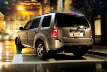 2013 Honda Pilot / The Honda Pilot. It's more spacious than most. It's more fuel efficient than ever. It's got adventure for eight written all over it. It's ready to tow with a standard integrated trailer hitch and, with the incredible fuel efficiency of the Variable Cylinder Management® system, it's in for the long haul.