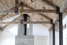 Ceilings and Exposed Trusses