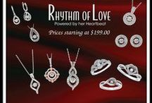 Rhythm of Love - Powered by her heartbeat / The center diamond vibrates with her movement.