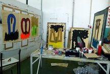 Atelier / Atelier work from MFA - Plastic Arts