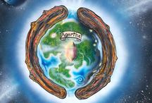 Agartha / Hollow earth and Agartha in the middle of Gaia.