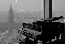 Pianos and scenic