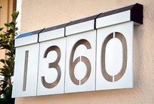 House Numbering Ideas