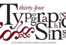 typografia / typography