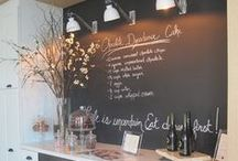 Chalkboard Ideas for Home