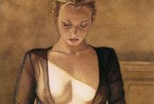 Undressed / Nudes Sensual Naked Raunchy Female form Nipples Undressed