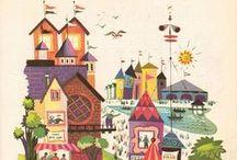 Ilustracion Dibujo & Diseño / Ilustraciones en literatura y otros motivos. Diseño gráfico. Murales y arte en la ciudad