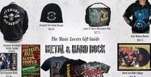 Metal and Hard Rock Music Lovers Gifts / Gift ideas for Heavy Metal and Hard Rock Music Lovers.