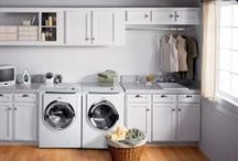 Laundry Room Inspiration  / Get inspired by these beautifully decorated and organized laundry rooms
