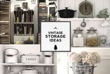 Storage Ideas / Great collection of storage ideas for your home