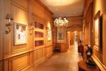 Panelled Hallways