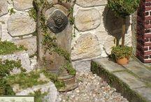Miniature Garden and Entryways