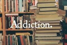 Reading Addict / The wonder of reading bound books with pages that turn.