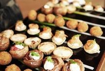 #Wedding #Food at Rivervale Barn / A collection of some of the #wedding #food and #drinks at this gorgeous #weddingvenue