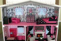 Barbie domečky