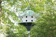 Dovecotes and Aviaries / And smaller birdhouses for the garden too. Doves. Wooden, stone, handmade.