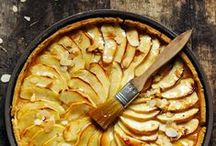 Tarts Galore ~ French Apple Tart ~ Tart aux Pommes / Recipes and inspirations for classic and less classic french tarts, tart tatins and galettes. Easy to make, always delicious. Pear, plum, peach, strawberry, chocolate and blueberry tarts too.