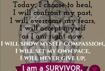 Inspirational Posters / Survivor and patient posters to use as inspiration.
