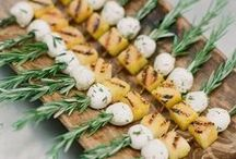 Spring #Wedding #Food Ideas / Delicious seasonal food ideas to serve at your wedding