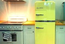 Color in the Kitchen! / Stainless steel is boring! Gimme color.