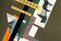 Collages & Photomontages / Les maîtres : P. Picasso (1881-1975), R. Haussmann (1886-1971), K. Schwitters (1887-1948),  H. Höch (1889-1978), Man Ray (1890-1976), mais aussi R. Hamilton (1922-2011), R. Rauschenberg (1925-2008), J. Villeglé (1926), R. Johnson (1927-1995), C. Twombly (1928-2011), W. Klein (1928)... et toute la nouvelle génération.
