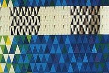 Triangles & Carrés / triangles, losanges, carrés...