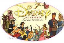 Disney Klassikot - MITKÄ LÖYTYY !! / Disney klassikoita keräämme. Laitan tänne ne jotka MEILLÄ JO ON. Meillä on Blu-ray soitin joten myös semmoiset käy.