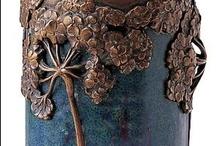 """Art Nouveau / années 1900, Art Nouveau français, style """"nouille"""", style végétal, Liberty (Italie), Modernismo ou Arte Joven (Espagne, Catalogne), The Chap Book (US, 1894-1898), The Yellow Book (UK, 1894-1897)..."""