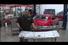 """Videos - That's How It's Done! / Classic Industries' """"That's How It's Done!"""" series takes you through step by step instructions on how to tackle your classic restoration one step at a time.   This series includes tips and tricks on what to look for when purchasing a classic car, how to use emblem installation templates, weatherstrip installation and much more."""