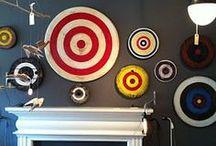 Cercles & Anneaux / motifs géométriques courbes, cercles, demi-cercles, anneaux, ovales, cibles, disques, sphères...