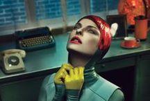 Futuriste & Dystopique / futur, dystopies, science-fiction, robots, cyber, techno...