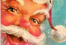 Dear Ol' Santa Claus / When I was a child, I never doubted Santa was as real as the nose on my face. Fifty years later I still believe.  I collect santa everything, esp, the jolly ol' elf  vintage style, but nothing is off limits when it come to the chubby guy in the red suit. / by Sue Hirtle