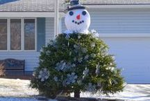 Lets Make A Snowman ♥ / Ever make a snowman and wish he or she could come to life just like Frosty in the cartoon?