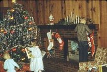 1960's Christmas / The earliest Christmas I can remember was about 1964. The  heavy wooden door to the main room was closed but when dad opened it and us kids rushed in  to see what Santa brought, the tiny room had been transformed into a magical toy-land. Mom tells us today that we never really got much; Dad couldn't afford it, but to me, it seemed like I was blessed beyond measure. / by Sue Hirtle
