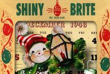 ♥ Christmas Whimsey ♥ / Cute, colorful, quirky, joyful and just plain fun!