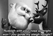 Rudolph the red nosed reindeer / The 1964 classic. A TV animated Christmas special that was very much a product of its time. / by Sue Hirtle