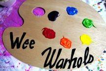 Wee Warhols Sign Ideas